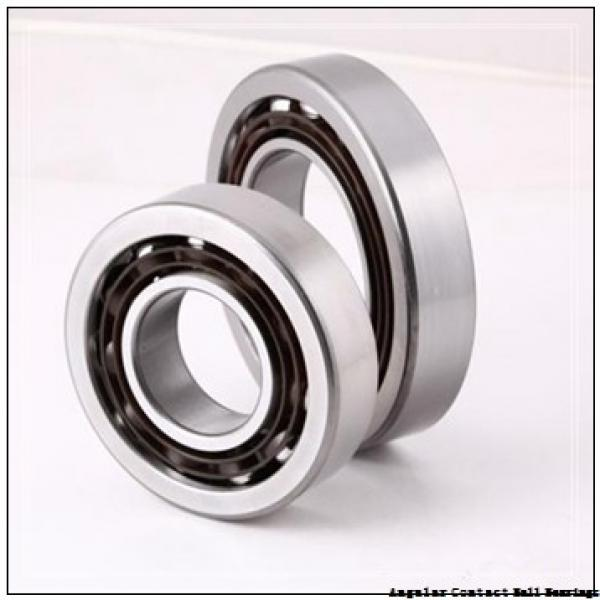 60 mm x 130 mm x 31 mm  TIMKEN 7312WN  Angular Contact Ball Bearings #2 image